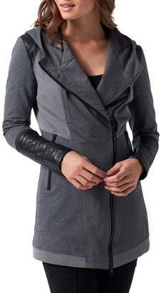 Blanc Noir Traveller Mesh Inset Jacket