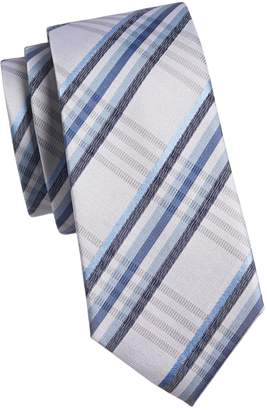 91ed27dfe7ea Kenneth Cole Reaction Silk-Blend Plaid Tie