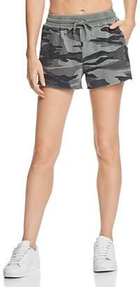 Splendid Camo Drawstring Shorts