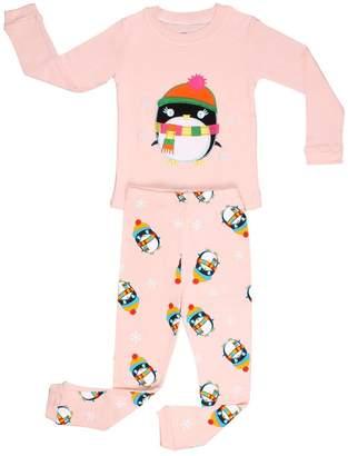 Original Penguin Elowel Pajamas Elowel Little Girls 2 Piece Pajama Set 100% Cotton years