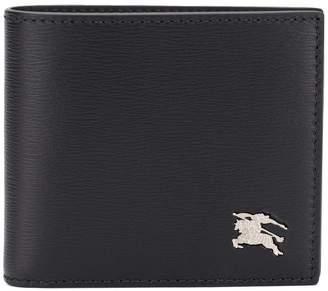 Burberry logo plaque bifold wallet