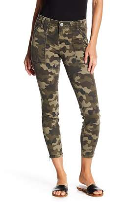 KUT from the Kloth Connie Camo Ankle Jeans