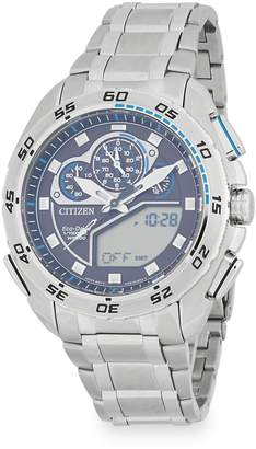 Citizen Men's Round Stainless Steel Bracelet Watch