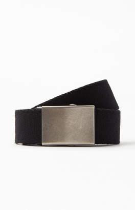 PacSun Black Webbed Belt