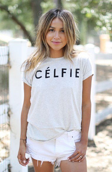 Women's Sincerely Jules 'Celfie' Graphic Tee 2