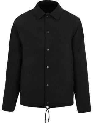 River Island Black fleece lined coach jacket