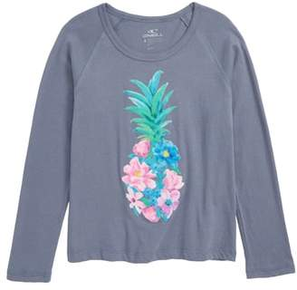 O'Neill Floret Screenprint Long Sleeve Tee