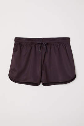 H&M Sports Shorts - Purple