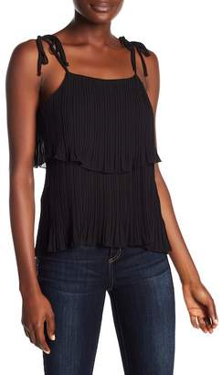 Romeo & Juliet Couture Pleated Popover Tank Top