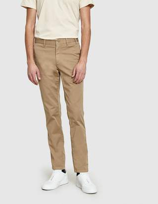 Norse Projects Aros Slim Light Stretch Pant in Khaki