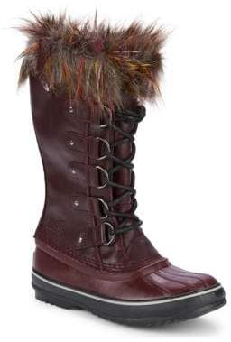 Sorel Joan of Arctic Waterproof Faux-Fur Trimmed Boots