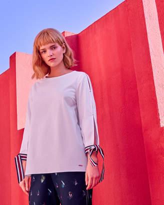 b3d0c4c1c28d29 Split Sleeve Tops Womens - ShopStyle UK
