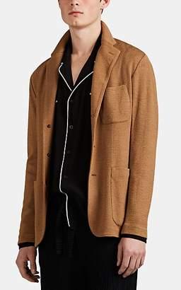Barena Venezia Men's Double-Knit Jersey Three-Button Sportcoat - Camel