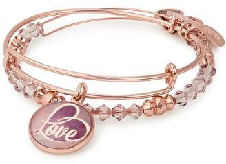 Alex and Ani Love Expandable Bracelets