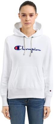 Champion Hooded French Terry Sweatshirt W/ Logo