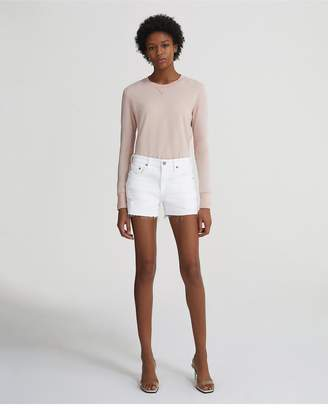 AG Jeans The Hailey Shorts - 1Yr Low White
