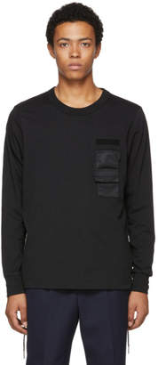 Diesel Black T-Laces Sweater