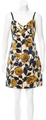 Milly Silk Floral Dress