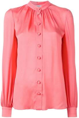 Lanvin button down blouse
