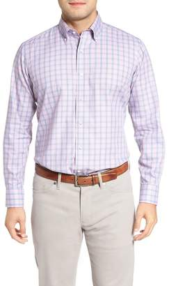 Peter Millar Desert Check Regular Fit Sport Shirt