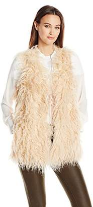 Show Me Your Mumu Women's Luis Faux Fur Vest