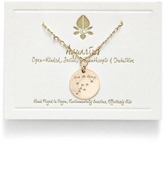 Women's Ija 'Large Zodiac' 14K-Gold Fill Necklace $113 thestylecure.com