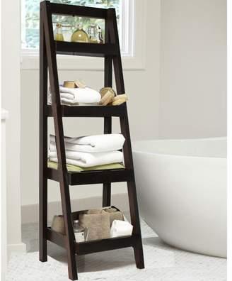 Beachcrest Home Hensley Ladder Bookcase