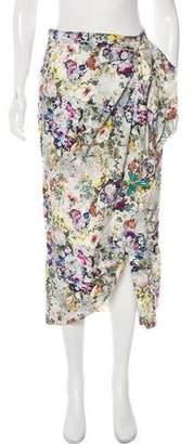 Tata-Naka Tata Naka Floral Midi Skirt
