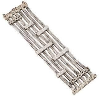 John Hardy Diamond Multistrand Bracelet