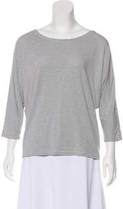 Rachel Zoe Stripe Long Sleeve Top