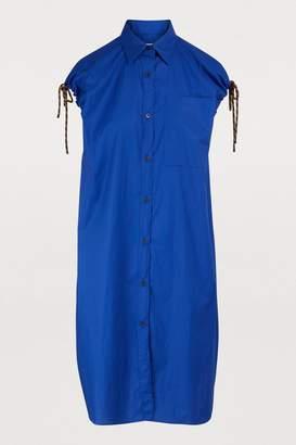 Dries Van Noten Sleeveless shirt dress