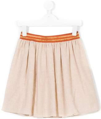 Liu Jo Kids pleated mid-length skirt