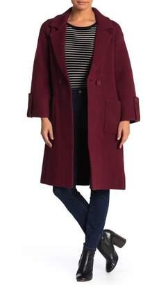 Love Token Notch Collar Sweater Jacket