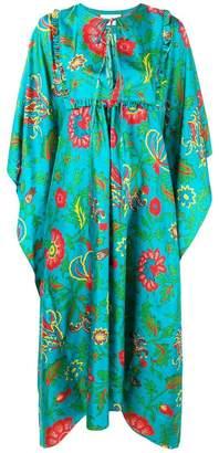 Dragon Optical La Doublej Flower print dress