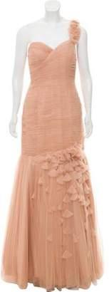 Jovani Asymmetrical Ruffled Gown w/ Tags