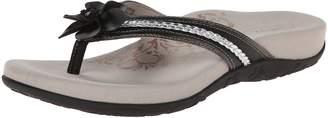 Aetrex Women's Selena Flower Thong Sandal