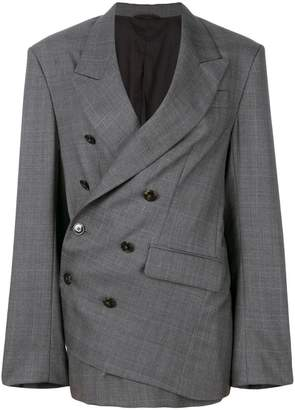 A.F.Vandevorst tailored wrap blazer