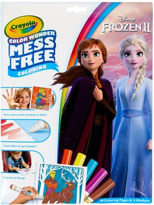 Crayola Disney's Frozen Mess-Free Color Wonder Markers & Paper Set