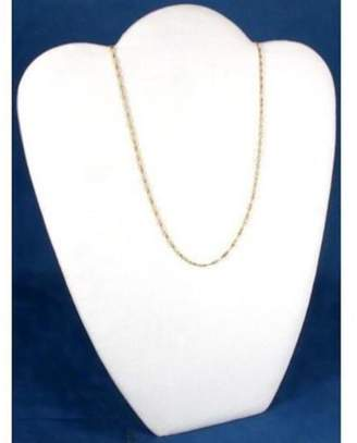 FindingKing Velvet Padded Necklace Pendant Bust Showcase Display 10 7/8""