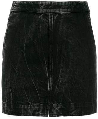 Givenchy classic fitted denim skirt