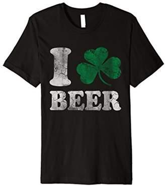 I Shamrock Beer Irish Shirt