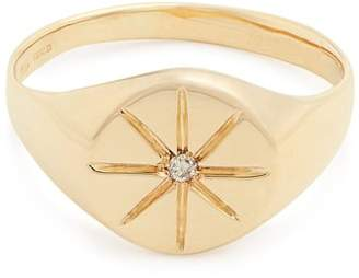 Jacquie Aiche - Diamond & Yellow Gold Ring - Womens - Gold
