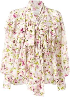 Faith Connexion floral print blouse