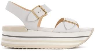 Hogan H294 platform sandals
