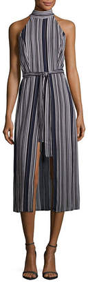 EMERALD SUNDAE Emarld Sundae Sleeveless Stripe Maxi Dress-Juniors