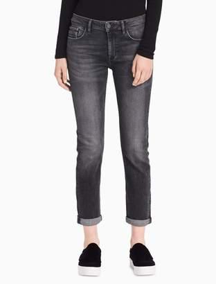 Calvin Klein slim boyfriend fit grey jeans