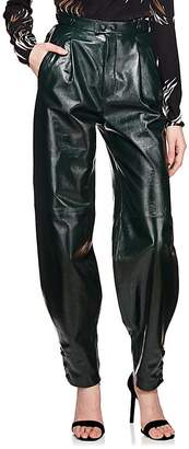 Givenchy Women's Patent Leather High-Waist Pants