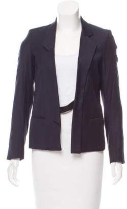 Helmut Lang Virgin Wool Notch-Lapel Blazer