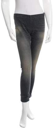 6397 Pinstripe Skinny Pants w/ Tags