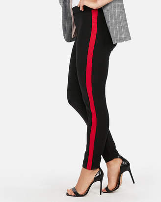 Express Mid Rise Side Stripe Pull-On Leggings